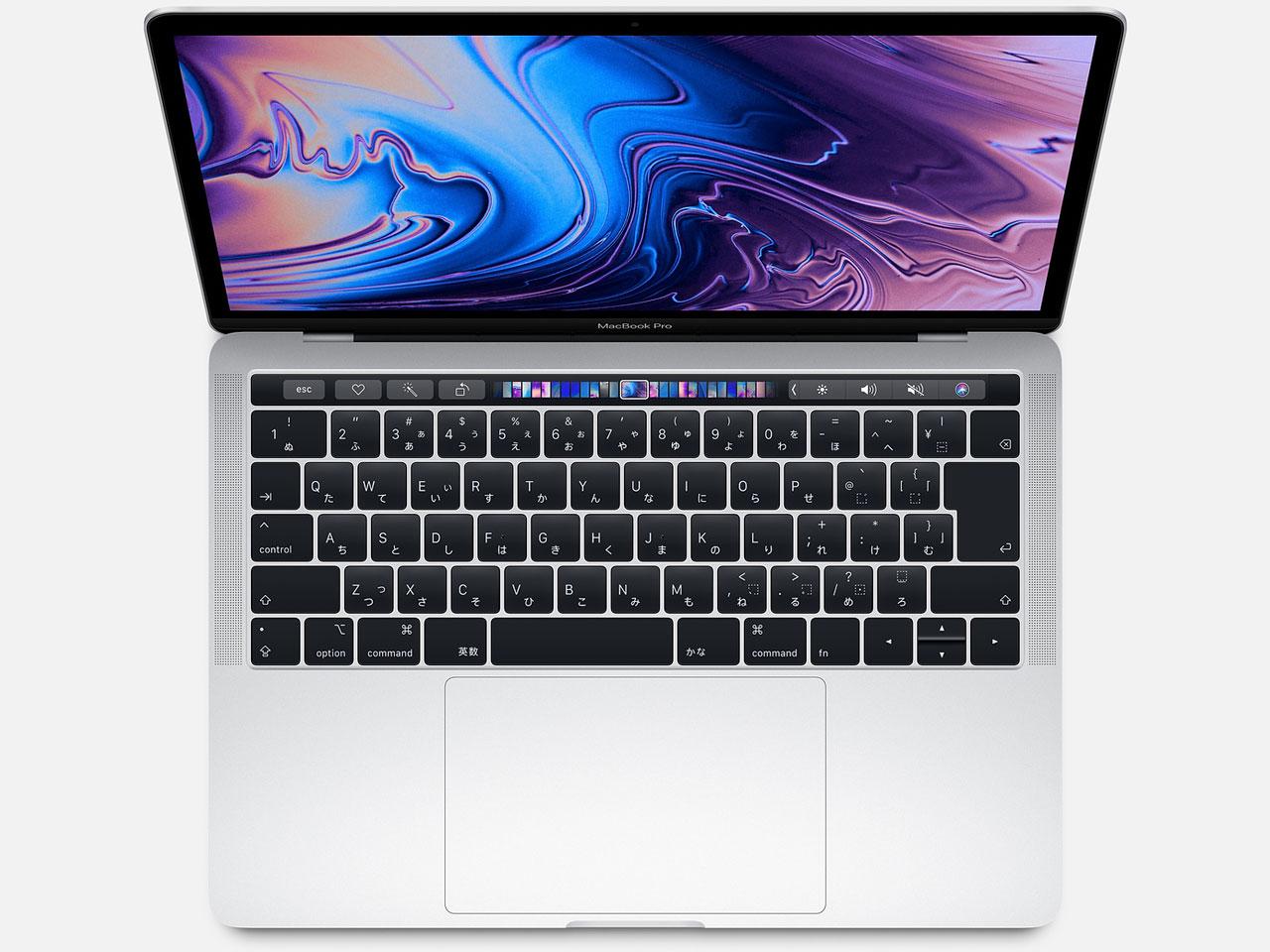 MacBook Pro (Retina, 13.3-inch, SSD 256GB, Touch Bar, 2018) MR9U2J/A シルバー