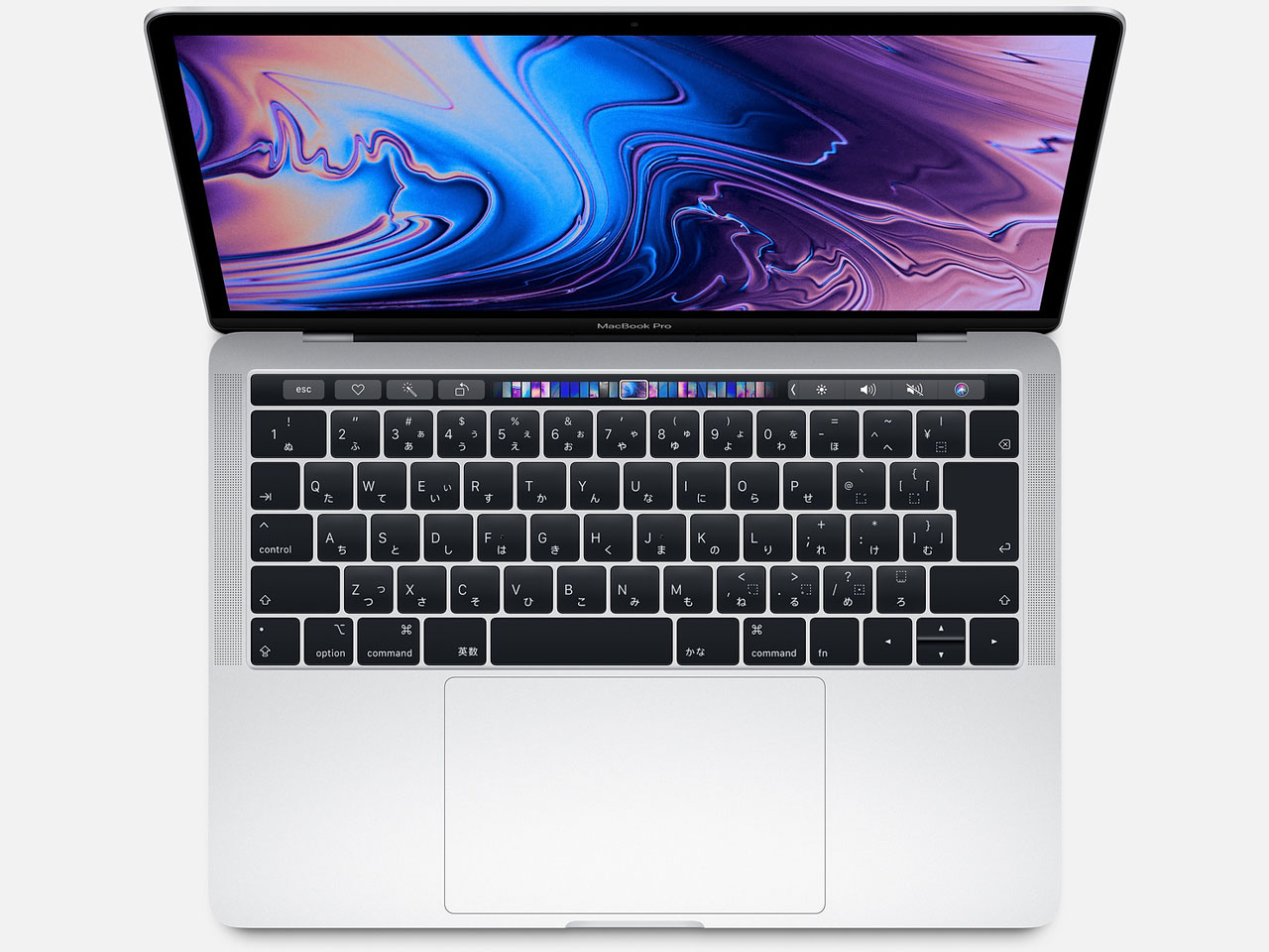 MacBook Pro (Retina, 13.3-inch, SSD 512GB, Touch Bar, 2018) MR9V2J/A シルバー