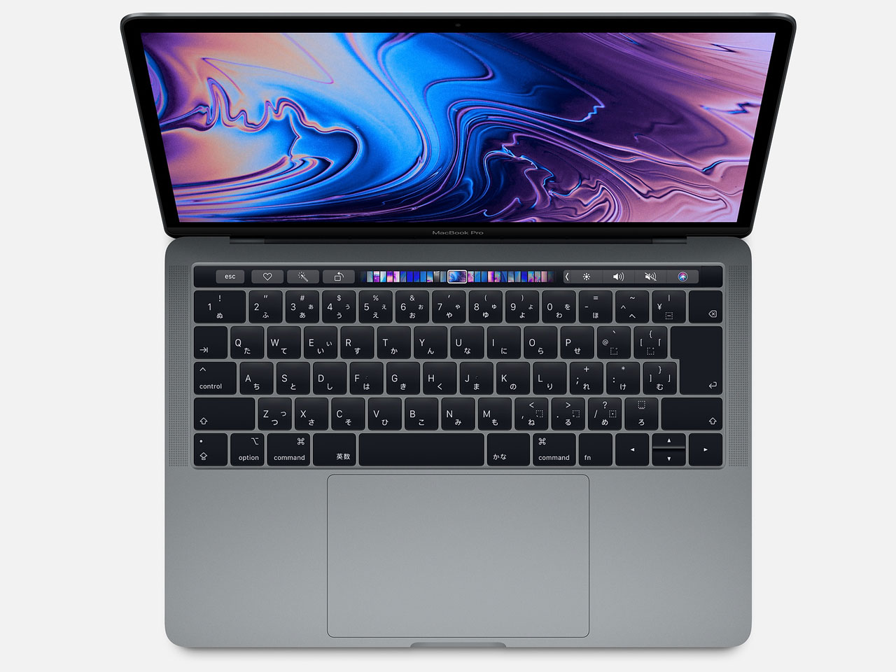 MacBook Pro (Retina, 13.3-inch, SSD 256GB, Touch Bar, 2019)  MUHP2J/A スペースグレイ