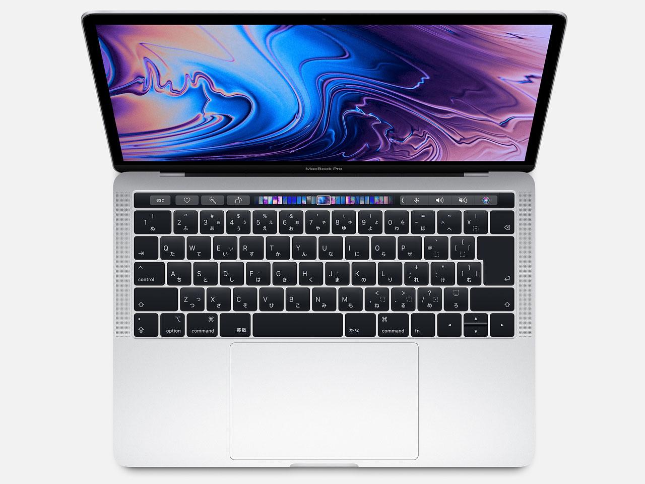 MacBook Pro (Retina, 13.3-inch, SSD 128GB, Touch Bar, 2019) MUHQ2J/A シルバー