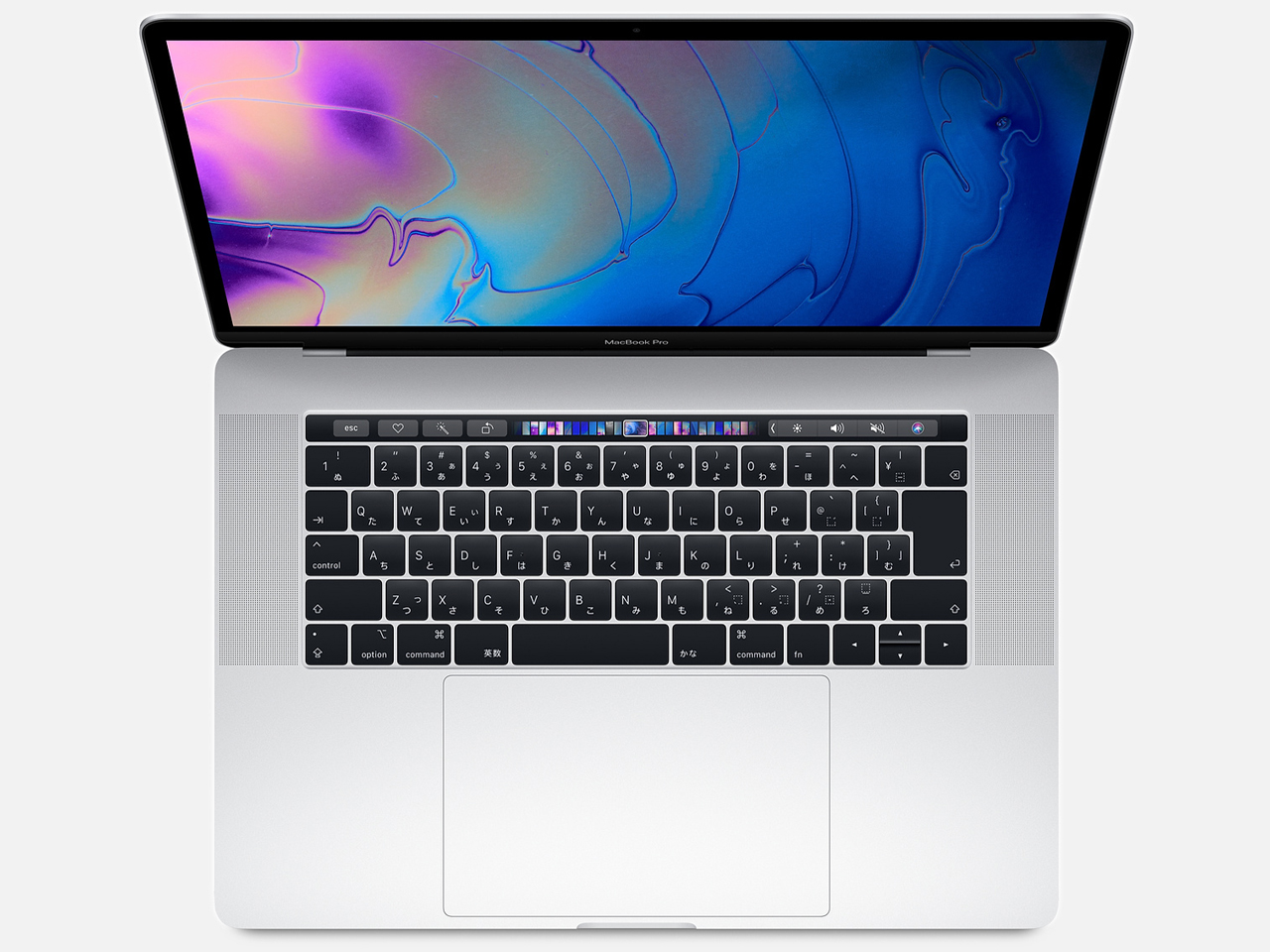 MacBook Pro (Retina, 15.4-inch, SSD 256GB, Touch Bar, 2019) MV922J/A シルバー