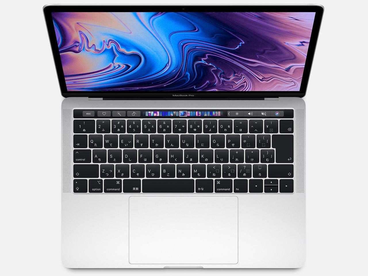 MacBook Pro (Retina, 13.3-inch, SSD 256GB, Touch Bar, 2019) MV992J/A シルバー