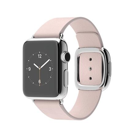 Apple Watch 38mmステンレススチールケースとソフトピンクモダンバックル MJ362J/A【S】 MJ372J/A【M】 MJ392J/A【L】
