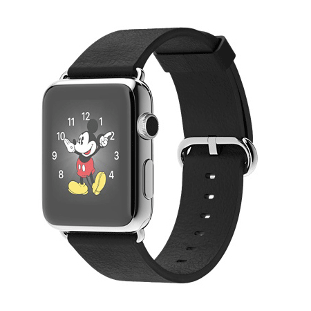 Apple Watch 42mmステンレススチールケースとブラッククラシックバックル MJ3X2J/A