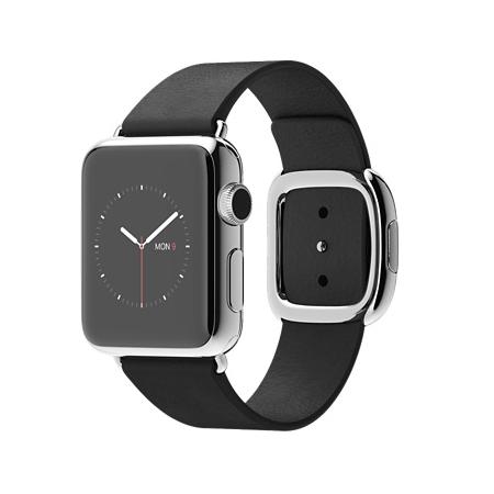 Apple Watch 38mmステンレススチールケースとブラックモダンバックル MJYK2J/A【S】 MJYL2J/A【M】 MJYM2J/A【L】