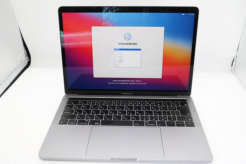 Apple MacBook Pro 13-inch 2018 Four Thunderbolt 3 Ports|中古買取価格58,000円