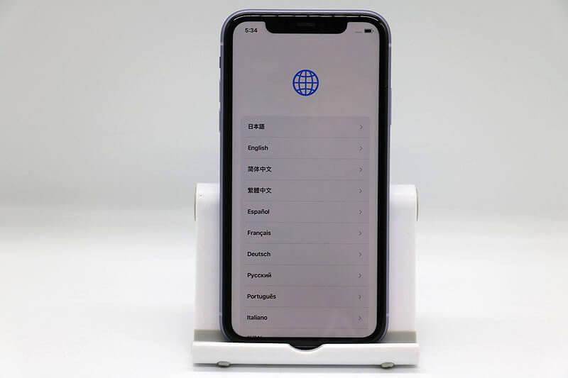 Apple iPhone 11 MWMC2J/A 256G パープル SIMフリー 中古買取価格55,000円