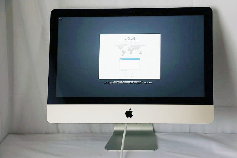 Apple iMac 21.5-inch Late 2013 ME086J/A|中古買取価格19,000円